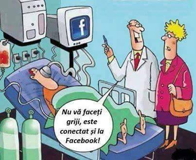 Conectat la Facebook