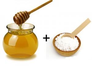 Masca cu argila si miere