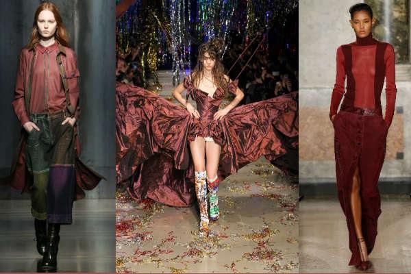 Moda 2016 Marsala culoare