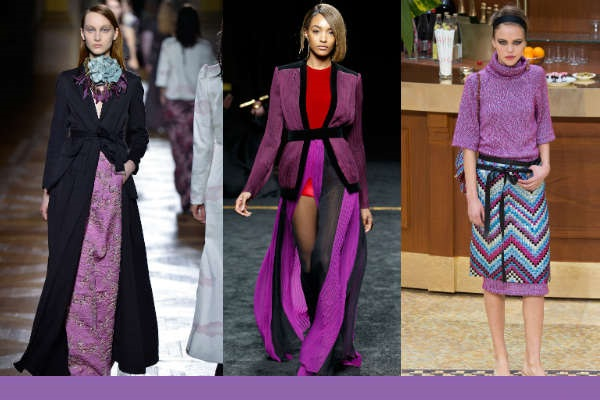 Moda 2016 culori purtate Amethyst Orchid