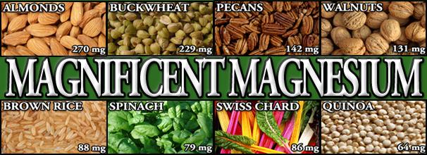 Alimente cu magneziu