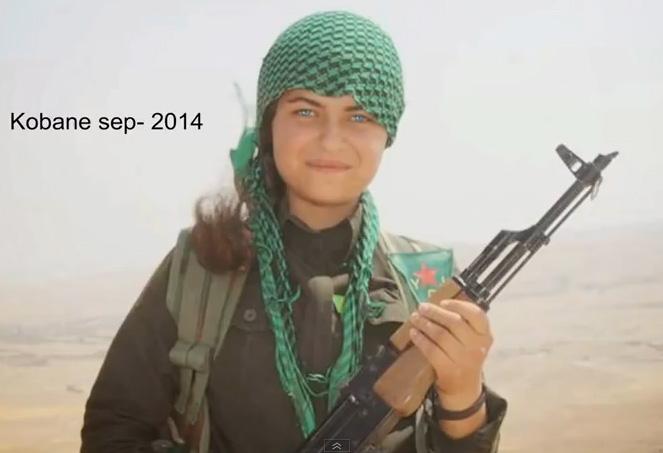Luptatoare kurda