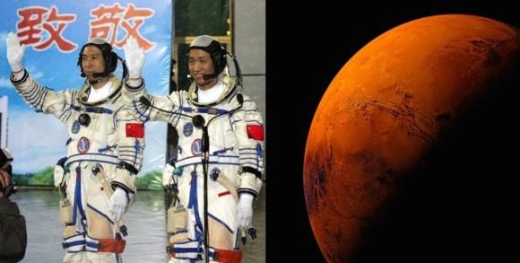 China pe Marte