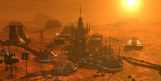 Colonizare Marte Luna
