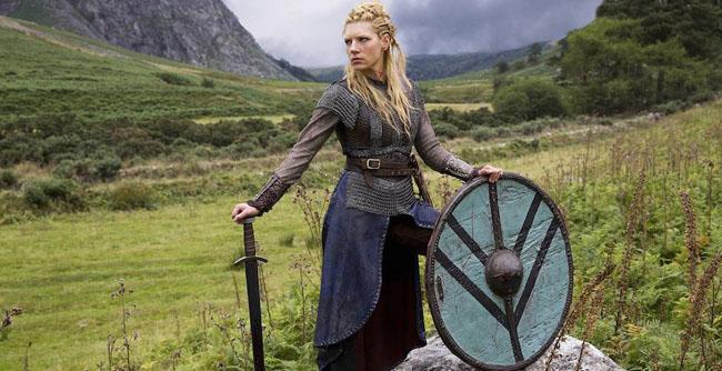 vikingi femei
