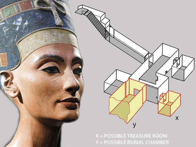 Nefertiti Mormant