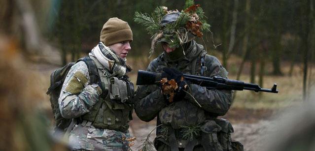 Trupe paramilitare Polonia