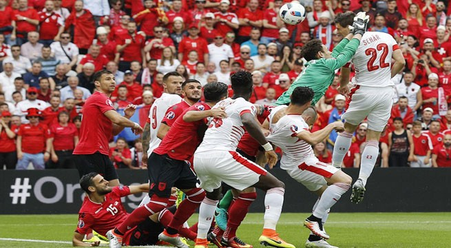 Scor final Elvetia Albania