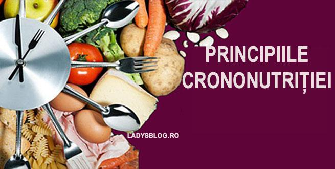 Principii crononutritie