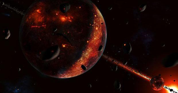 Formarea Lunii