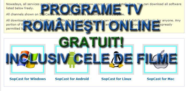 Programe tv romanesti gratis netdating