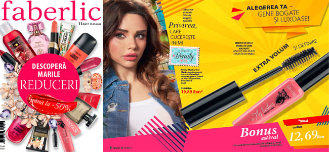 Catalog Faberlic Romania 2017