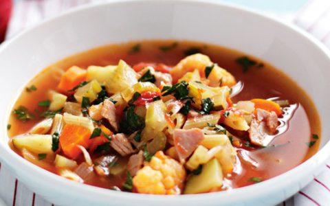 Reteta supa legume