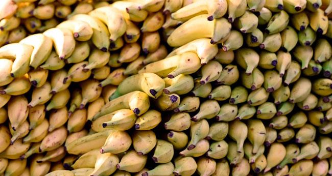 Banana cu coaja comestibila