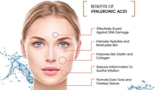 Beneficii cosmetice cu acid hialuronic