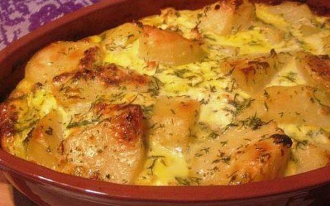Reţetă budincă de cartofi