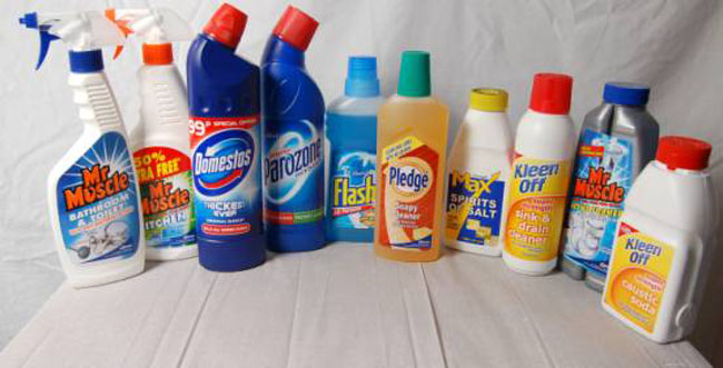 Produse curatenie toxice