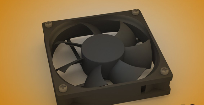 Cooler pc Fan ventilator calculator