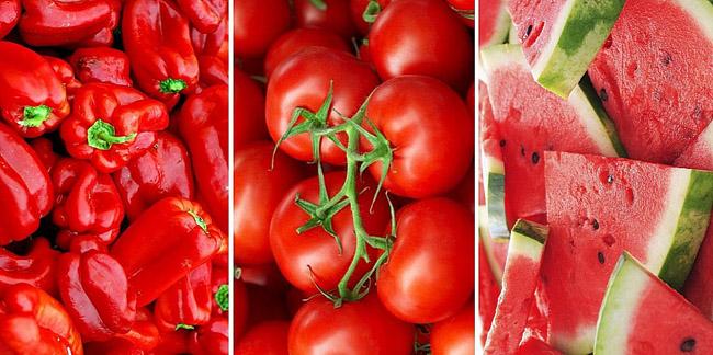 Alimente rosii