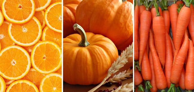 Alimente portocalii