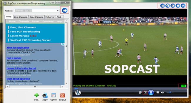 canale tv romanesti sopcast