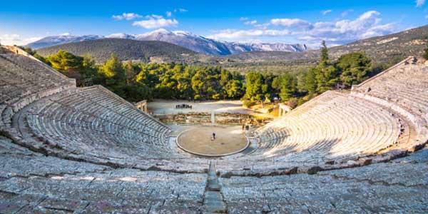 Ghid turistic Epidarus teatru