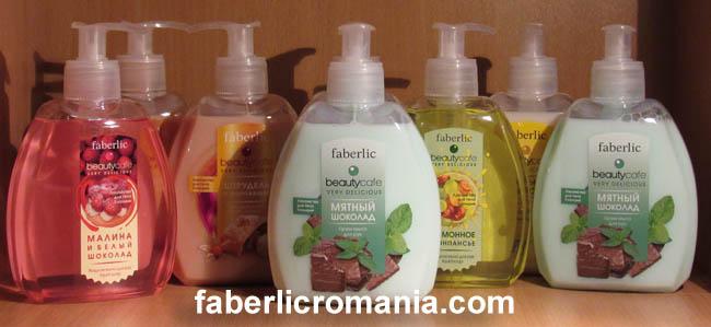 Săpunuri lichide Faberlic