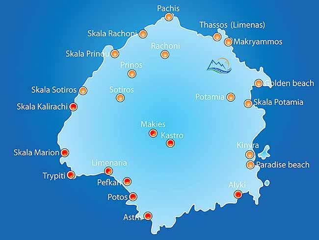 Ghid turism Thassos