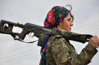 Amazoane kurde in lupta cu ISIS