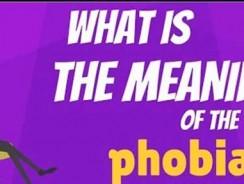 Ce este fobia?