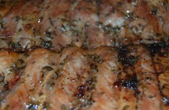 Coaste de porc la cuptor