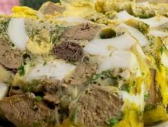 Drob din pui cu oua