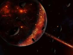 Noua teorie despre formarea Lunii