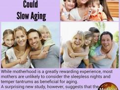 Femeile cu multi copii imbatranesc mai greu