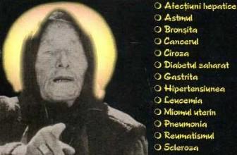 Dicţionar Leacuri bătrâneşti Baba Vanga