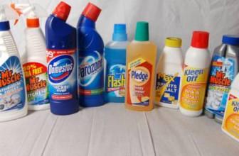 Plămânii pot fi afectaţi de produsele de curăţenie