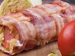 Reteta rulada bacon cu legume