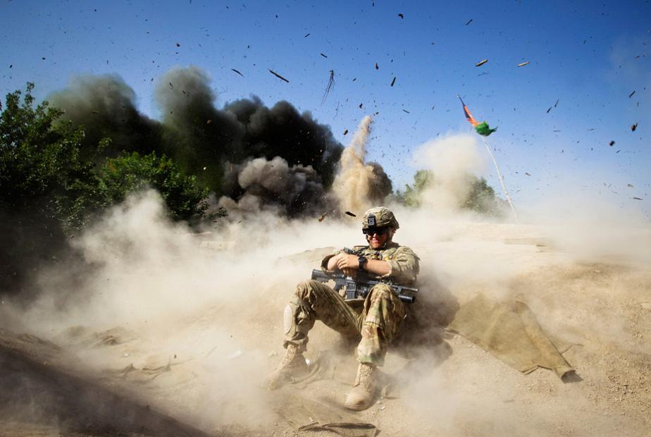 Militarii expusi la explozii au leziuni in zona creierului
