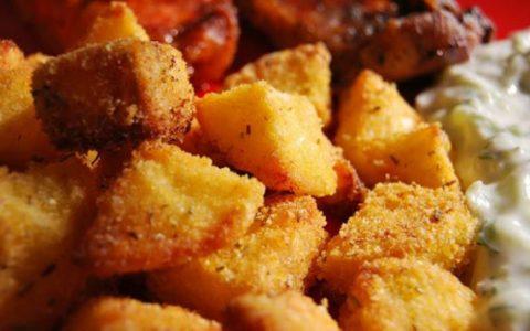 cartofi crusta cu malai