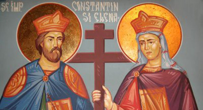 Sfintii Constantin si Elena traditii si superstitii