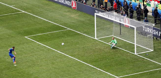 Islanda a invins Austria la Euro 2016