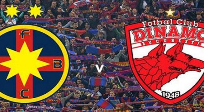 Derby-ul Steaua-Dinamo transmis de 3 televiziuni
