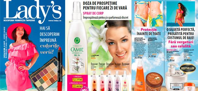 Ladys catalog cosmetice: oferta online