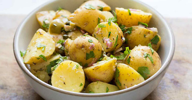Retete salate de cartofi