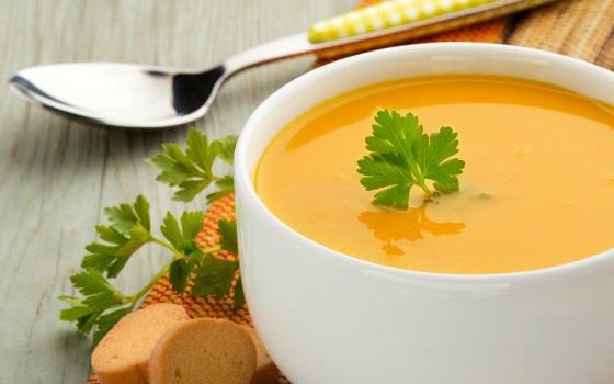 Supa cu puf de ou