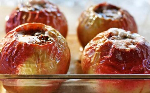 Reţetă mere umplute cu carne