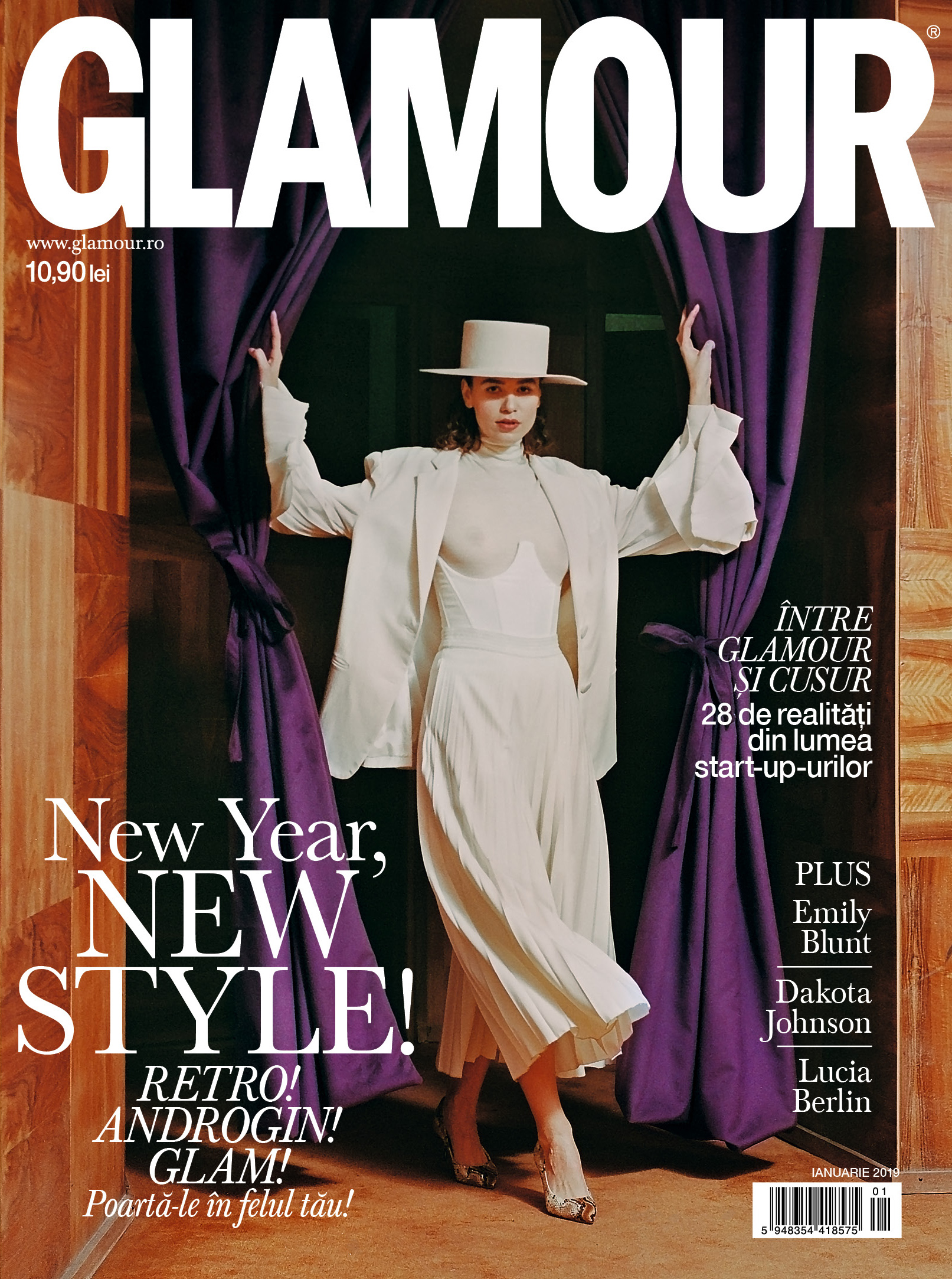 New Year, New Style: GLAMOUR de ianuarie