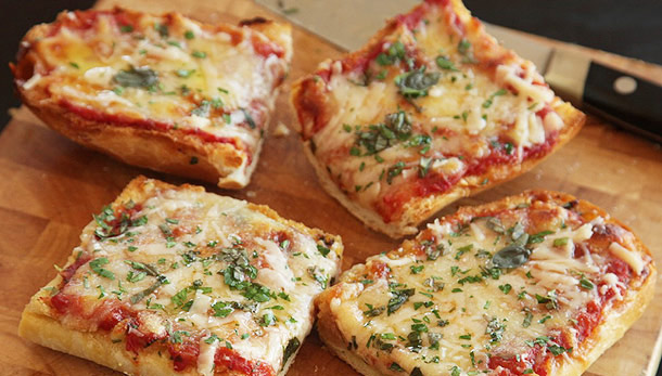 Pizza la microunde
